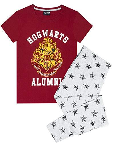 HARRY POTTER Pijamas Mujer Hogwarts Alumni Top & Bottoms PJ Large