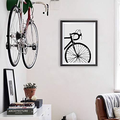 Geiqianjiumai Bicicleta Arte Inspirador Bicicleta Lienzo Pintura Mural Bicicleta Lienzo Arte Pintura y póster Regalo Familia Habitación Infantil Decoración Pintura sin Marco 60x80cm: Amazon.es: Hogar
