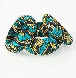 handmade fabric jewelry - African Kwanzaa gift bracelet