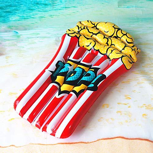 GGCL Materasso Gonfiabile ad Aria Popcorn Acqua Galleggiante Piscina Estiva Spiaggia Salotto per Feste Decorazioni zattera Giocattoli per Bambini
