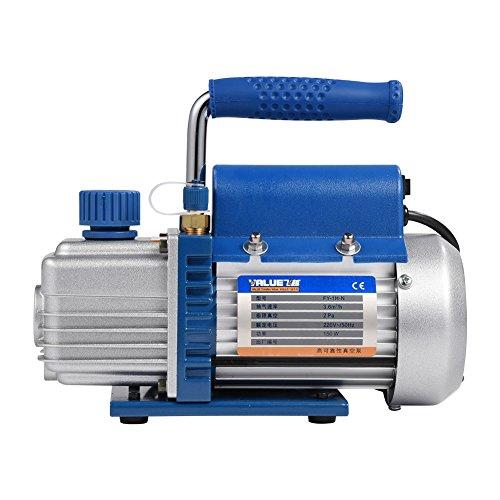 WALFRONT Pompe à Vide FY-1H-N 150W 220V Mini Pompe à Vide Portative pour Climatisation/Réfrigérateur
