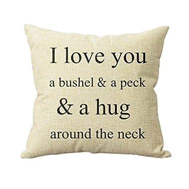 IEason Decor Throw Pillow Cases, Sofa Bed Home Decor Pillow Case Cushion Cover