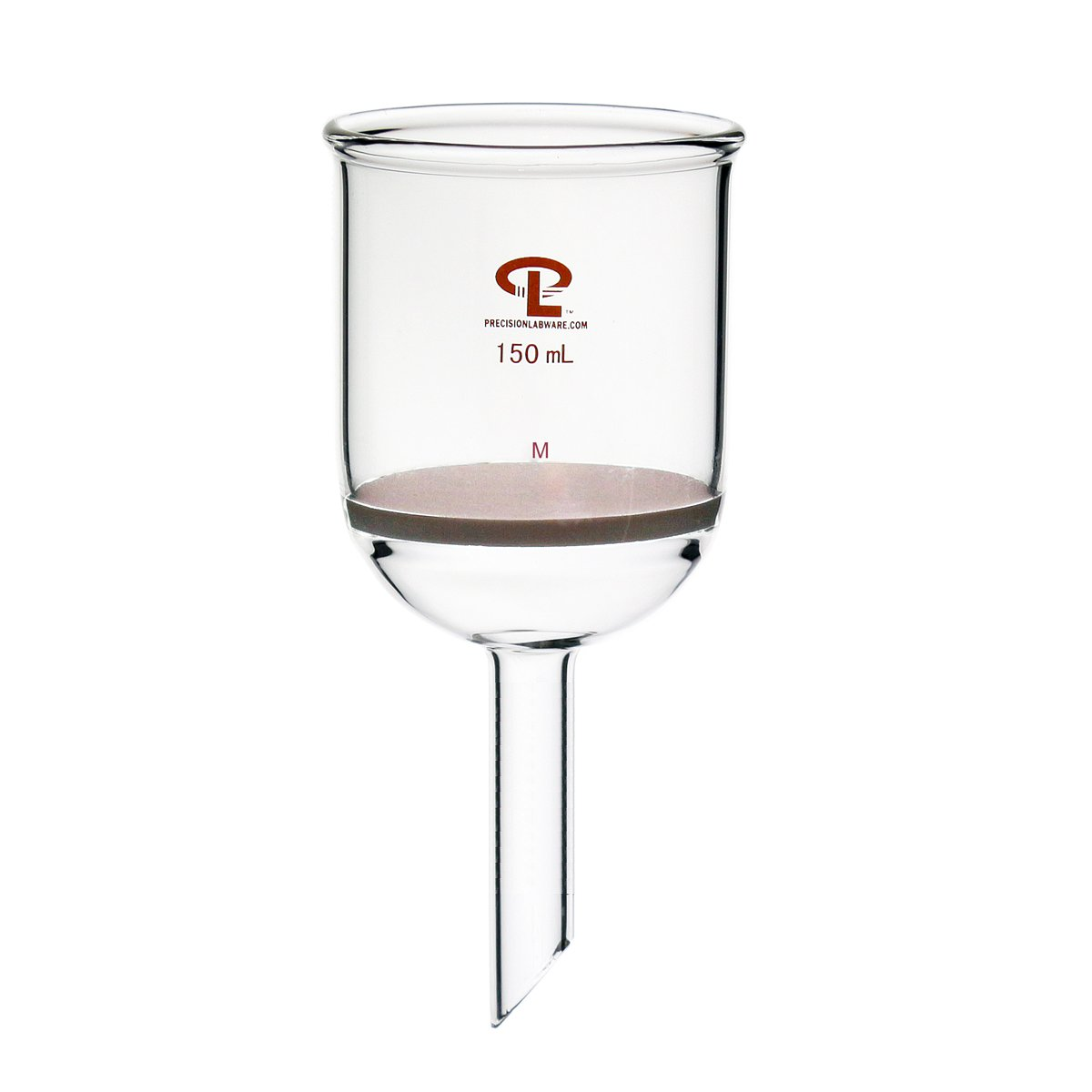 Precision 150 mL Filter Funnel Max 73% OFF Max 65% OFF Medium Porosity B Disc Fritted