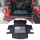 buyinhouse Pet Dog Cat Seat Cargo Liner Cover for Jeep Wrangler JK JL 2007-2020 Large Size Hammock with Waterproof Stain-Resistant Non Slip Backing Heavy Duty Oxford