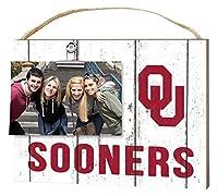 "KH Sports Fan 10""x8"" Oklahoma Sooners Clip It Weathered Logo Collage Photo Frame [並行輸入品]"