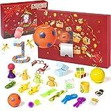 GAMENOTE Calendario de cuenta regresiva para niños, 24 días de Navidad para...