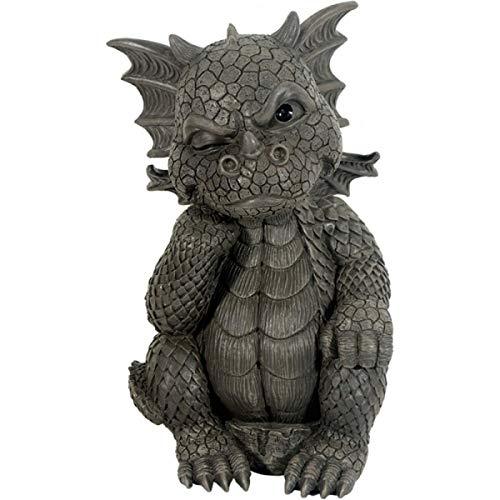 Dragon! Jardin! Le Penseur! Figure pour le jardin! Décoration!