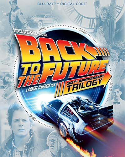 Back to the Future Trilogy Blu-ray for 14.99