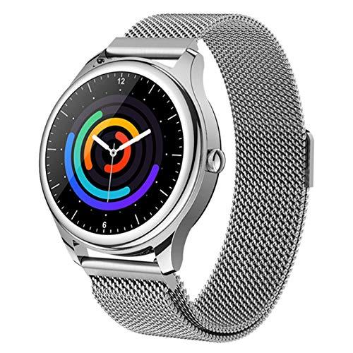 QLK S23 Smart Watch Monitor De Ritmo Cardíaco Pulsera Control De Música Deportes Negros Smartwatch Android iOS Hombre Mujer,B