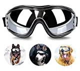 YAWALL Dog Goggles Pet Cool Sunglasses UV Protection Windproof Goggles Pet Eye Wear Medium Large Dog Swimming Skating Glasses Accessaries