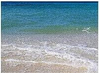 新しいJSCTWCLトロピカルビーチ海海の波パズル500ピース木製大人のジグソーパズル色子供のための抽象絵画パズル教育玩具ギフト