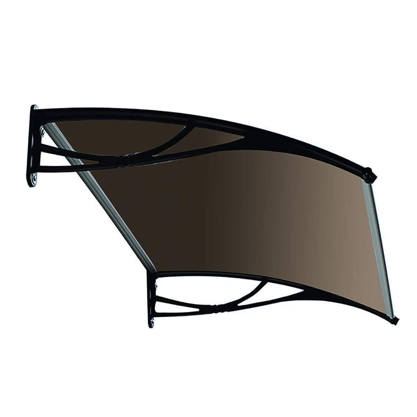 オアシス印刷する初期hisasix ひさしっくす おしゃれ庇(ひさし) Xモデル W120cm×D80cm(ブラウンボード,ブラックブラケット) 木造用金具付き x120br-bl