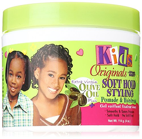 Africa's Best Kids Organics Pomade and Hair Dress, 4 Ounce