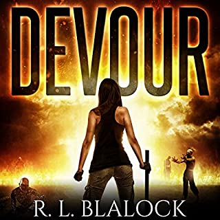 Devour audiobook cover art