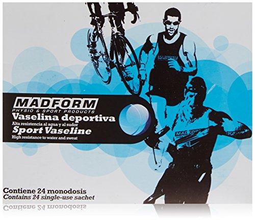 Madform Vaselina Deportiva Vaselina deportiva con una alta resistencia al agua y al sudor - caja de 24 sachets de 10 ml