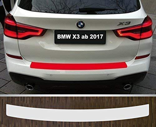 is-tuning passgenau für ***BMW X3*** ab 2017 Lackschutzfolie Ladekantenschutz transparent