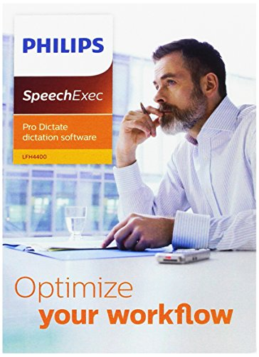 dictation softwares Philips LFH4400 SpeechExec Dictation Software