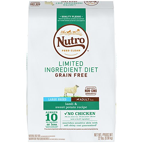 NUTRO Limited Ingredient Diet Adult Grain...