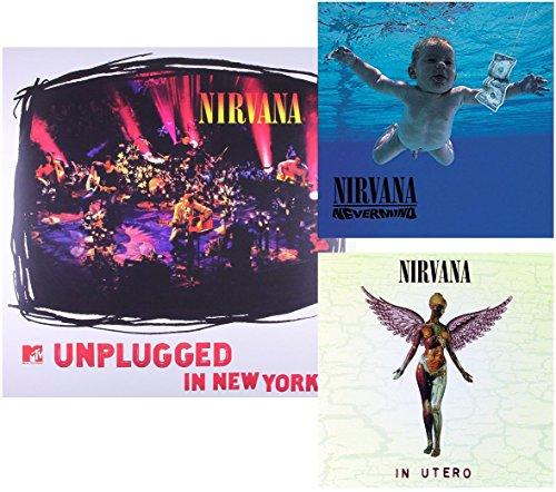Nevermente - En Utero - MTV sin enchufe - 3 LP de vinilo - 180 g incl. Descarga MP3