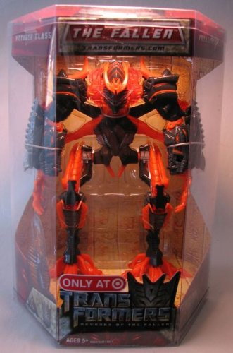 Transformers 2 Revenge of the Fallen Movie Exclusive Voyager Class Action Figure The Fallen Alternate Packaging by Transformers