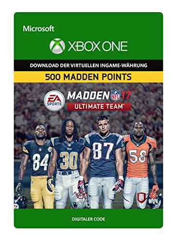 Madden NFL 17: MUT 500 Madden Points Pack [Xbox One - Download Code]