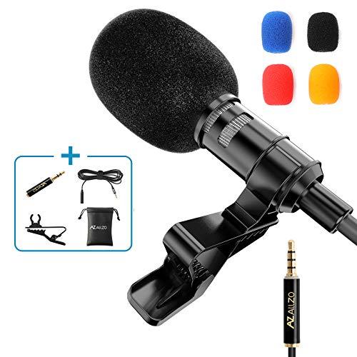 AZ ALLZO Lavalier Lapel Microphone