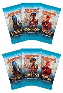Magic The Gathering 6 (Six) Packs MTG: Kaladesh Booster Packs