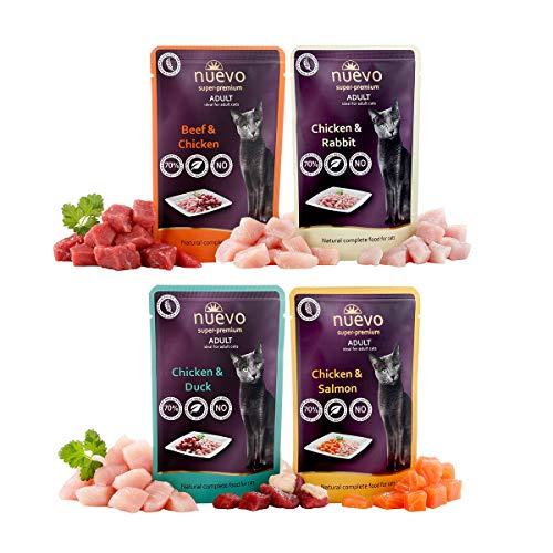 Nuevo Multi Pack 8 Sobres Alimento Completo y Natural para Gatos.