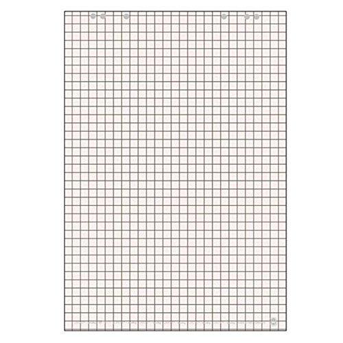 LANDR Flip-Chart-Block, 20 Blatt, kariert / blanko