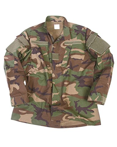 Mil-Tec ACU veste militaire american homme RipStop (Woodland/XL)