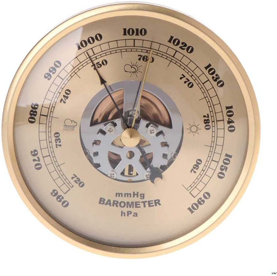 Manufacturer OFFicial shop BEKwe Wall Mounted Purchase Barometer Perspective Round Weather Dial Air