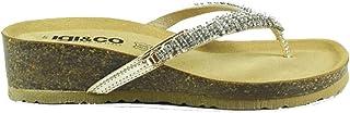 Scarpe IgieCo 1194411 Sandali Donna Vitello Laminat Moda Fashion Estive Mare