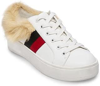 Steve Madden Womens BELL04S1 Belle-f White Size:
