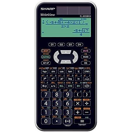 Sharp Schulrechner Elw550xg Bürobedarf Schreibwaren