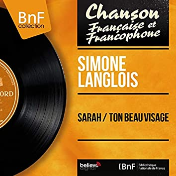 Sarah / Ton beau visage (feat. François Rauber et son orchestre) [Mono Version]
