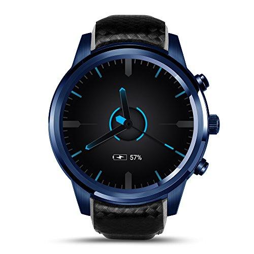 gut LEM5 Pro Smartwatch Bluetooth Wrist Smart Watch Support Multifunktio Lemfo LEM5 Pro Smart Uhr 2G + 16G IPS-Bildschirm WiFi GPS Bluetooth für Android IOSns
