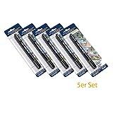 HMF 3600-02 - 5 x Geldscheinprüfstift