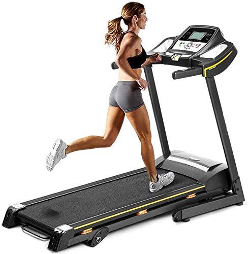 Booloveaitoo - Cinta de correr eléctrica plegable con pantalla LED (hasta 150 kg)