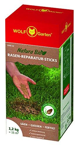 WOLF-Garten - Saatgut, Natura Bio - R-RS 15 Rasen-Reparatur-Sticks für 15 m², 3837020