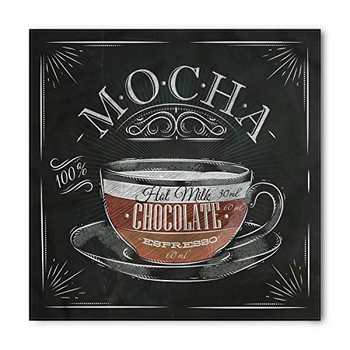 Soefipok Kaffee Bandana, Mokkatasse Tafel Design, Unisex Kopf und Krawatte Stirnband Kopf wickeln