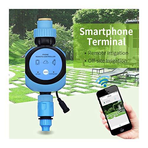 Sistema de riego de temporizador de riego WIFI mando a distancia del jardín del agua temporizadores inteligente Jardín de riego automático de temporizador Inicio Jardín Temporizadores para mangueras