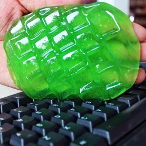 MZY1188 2pcs Tastatur-Reiniger - Schmutz-Entferner für PC/Computer, Telefon-Laptop-Hauptstaub-Abwischen-Kieselgel-klebriger Tastatur-sauberer Gummi-Reinigungskleber