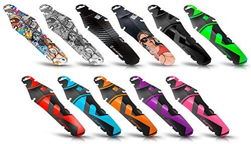 Riesel Design-Rit:ze-Schutzblech-Mudguard-für den Sattel-Spritzschutz-Fahrrad-Rennrad-Hinterrad-Girl