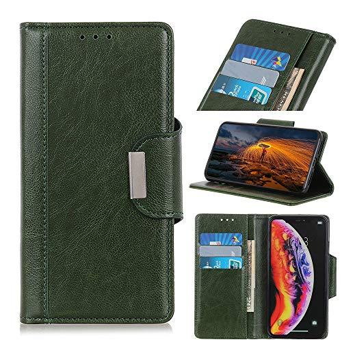 Teléfono Flip Funda Funda de billetera para Oppo Realme C21, cubierta de cuero con titular de la tarjeta Caja de teléfono de flip a prueba de golpes a prueba de golpes. Tapa trasera del teléfono intel