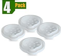 Aspectek Piège à Punaises de Lit, Piège à Insectes Lutte Efficace Contre les Punaises de Lit et les Puces pour Grimpant sur les Lits et les Tables (4 paquets)