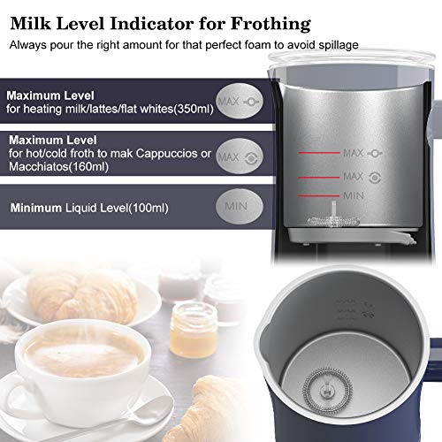 SuperDuomishu Batidoras espumadoras de leche automáticas