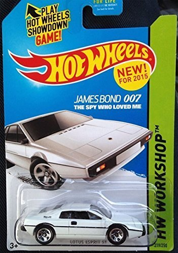 Hot Wheels 205 Lotus Esprit S1 James Bond The Spy Who Loved Me HW Workshop 219/250 by Hot Wheels