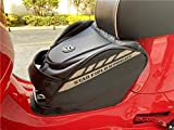 Universal Scooter Trunk Cargo Bag Front Toolkit Hook Bags Motorcycle Tail Bags Helmet Saddle Bag Compatible with All Vespa Models