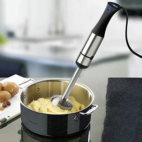 Starker Vario-Pürierstab mit Kartoffelstampfer und Aufsatz-Mixer