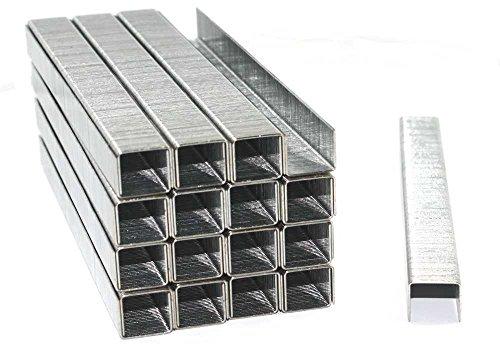 5000 Tackerklammern - Typ 53 - Länge: 14 mm, Breite: 11,4 mm - Maße 14/11,4 - verzinkt/Heftklammern/Tacker-Klammern